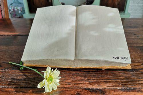 Urn in de vorm van een boek
